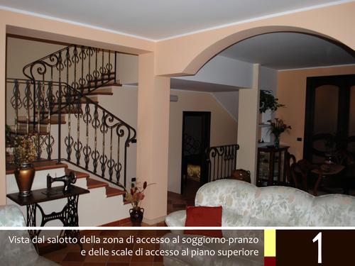 Biagio gioia spazio aperto in un 39 abitazione del centro - Scale interne a vista ...