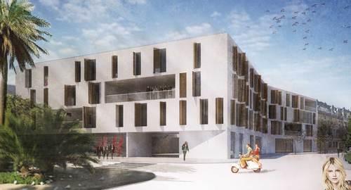 f-lab architettura  , Andrea Peruzzi, David Vecchi, Andrea Ravagnani, Federica Asaro — V4J. Concurso internacional de viviendas para jóvenes en Córdoba