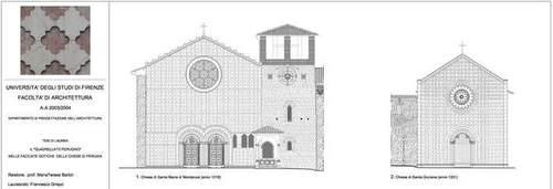 """Francesco Grispo — Il """"quadrellato perugino"""" nelle facciate gotiche delle chiese di Perugia"""