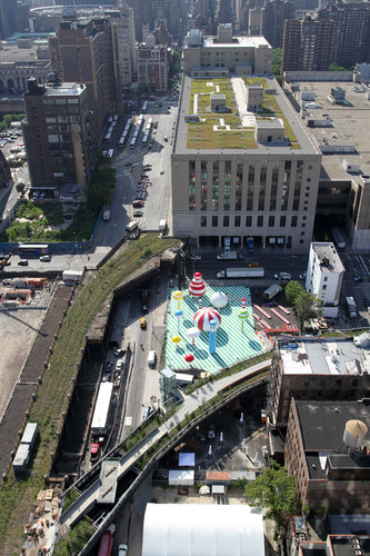 James Corner / Field Operations, DILLER SCOFIDIO + RENFRO — HIGH LINE, SECTION TWO