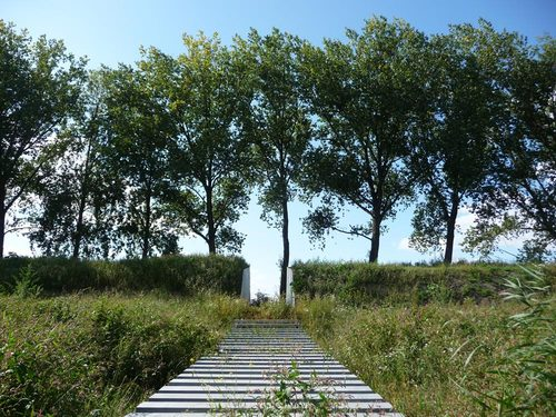 OKRA landschapsarchitecten, Bunker Q — New Dutch Waterline