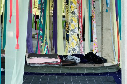 ES arch enricoscaramelliniarchitetto   — la stanza di stoffa