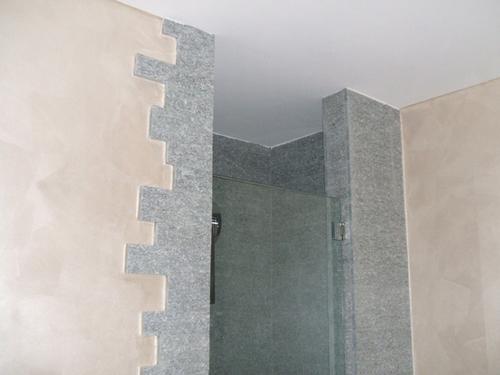 Alessandro ramondetti dario roca ristrutturazione - Rivestimento doccia in pietra ...