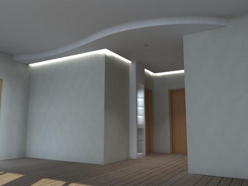 Illuminazione Ingresso Appartamento : Illuminazione per ingressi forme di luce per il contemporaneo
