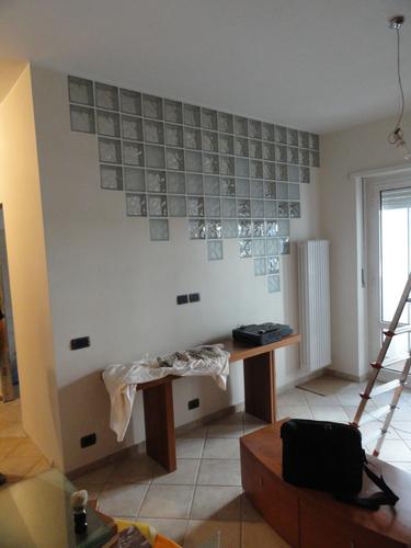 Alessandro ramondetti dario roca ristrutturazione interna di un alloggio divisare by - Separazione cucina soggiorno ...