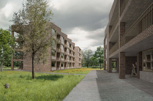 "Mettler Landschaftsarchitektur, Boltshauser Architekten — Site development ""Park am Aabach"""