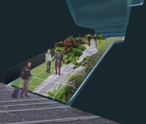 Ghigos ideas avant garden partecipazione al concorso - Giardino sul tetto ...