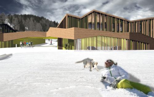 weber+winterle architetti — Riqualificazione Partenza Impianti di Risalita