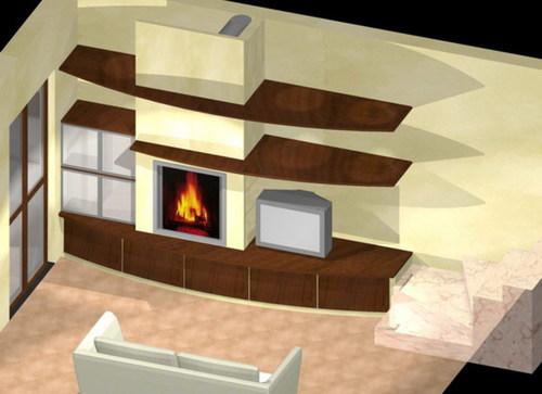 Caminetto soggiorno moderno ~ neburisky.net
