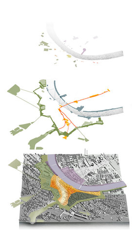 OKRA landschapsarchitecten, Maxwan, Basler & Hofmann — Concept design for the Basel city center