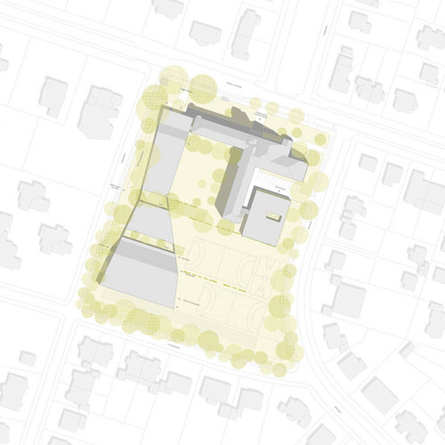 augustin und frank architekten arndt gymnasium divisare by europaconcorsi. Black Bedroom Furniture Sets. Home Design Ideas