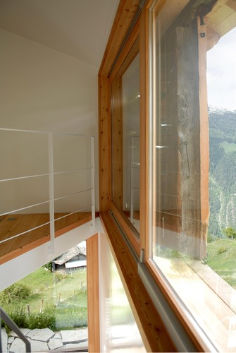 Personeni Raffaele Schärer Architectes — Shelter in the Swiss Alps