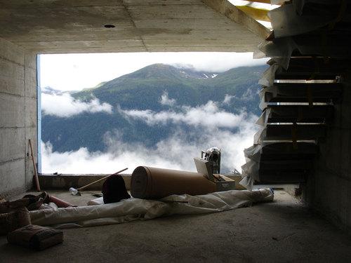 Personeni Raffaele Schärer Architectes — Shelter in the Swiss Alps