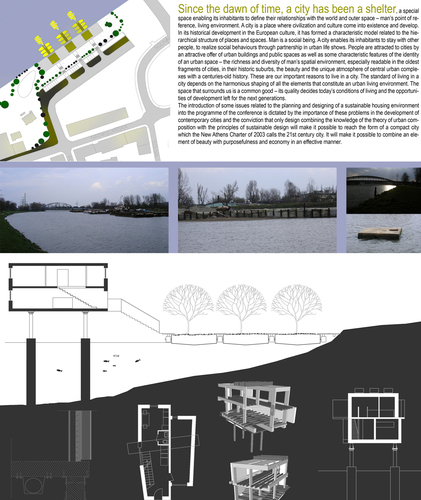 Studio aac casa studio sul fiume ordine degli for Piccoli piani di casa sul fiume