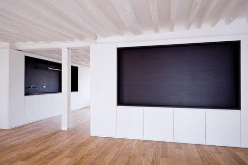 Nicolas reymond architecture le meuble habit divisare for Meuble architectural