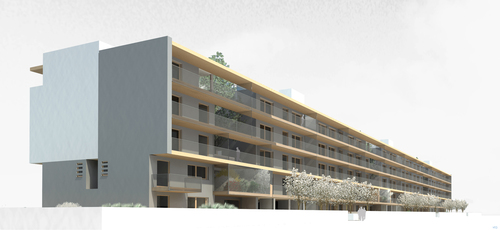 Gritti architetti gianpaolo gritti housing contest for Piani domestici a basso costo