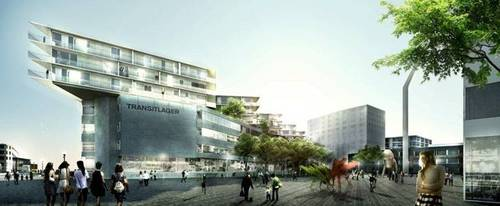 BIG - Bjarke Ingels Group — Transitlager Basel