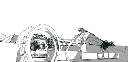 GREENCUBE Studio Associato arch. Gianluca Lella, Ing. Andrea Trinca, Trinca Andrea — Riqualificazione del piazzale degli Scogli Rossi ad Arbatax