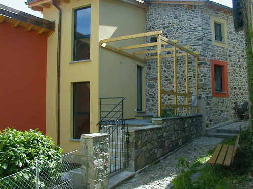 Dario banaudi recupero per abitazione di un fienile in - Progetto casa fossato di vico ...