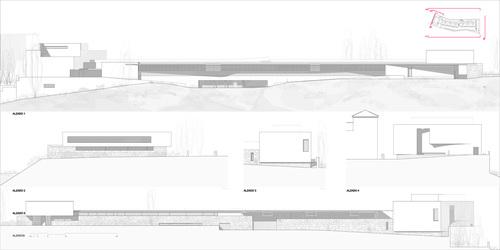 """Antonio Sánchez-Horneros, Emilio Sánchez-Horneros, TASH (Taller de Arquitectura Sanchez-Horneros) — FUNERAL PARLOR AT THE MUNICIPAL CEMETERY """" NUESTRA SEÑORA DEL SAGRARIO"""""""