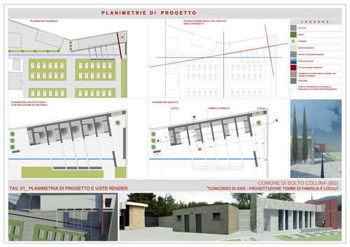Tai architettura cimitero di solto collina for Progettazione casa generatore