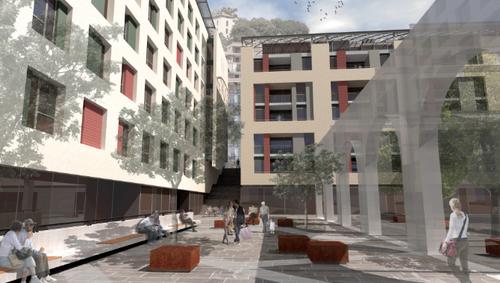 """Insula Architettura e Ingegneria S.r.l. — """"Ponti Rossi"""" - Intervento di recupero – Complesso residenziale"""