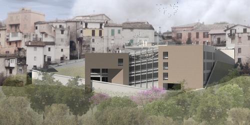 Insula Architettura e Ingegneria S.r.l. — Scandriglia - Parcheggio Multipiano