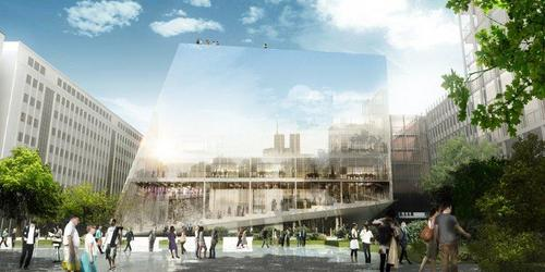 BIG - Bjarke Ingels Group, OFF Architecture, Buro Happold  — Paris PARC