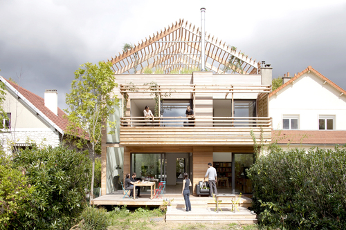 Djuric-Tardio Architectes — Eco-Sustainable House
