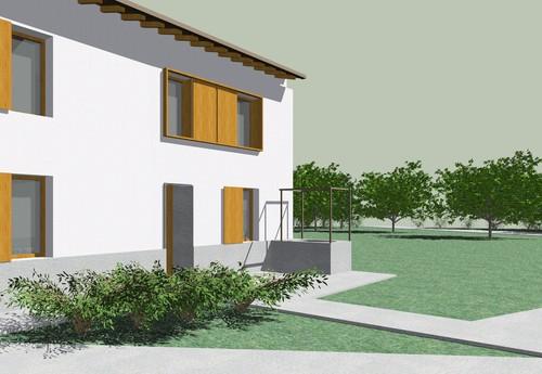 Donatella Basilio, Andrea Politi — Ristrutturazione casa in collina