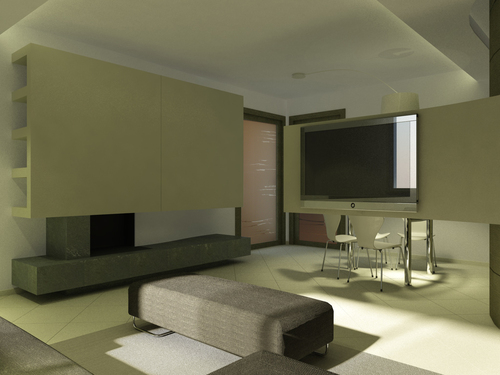 Melissa antolini architetto interior design for Soggiorno camino