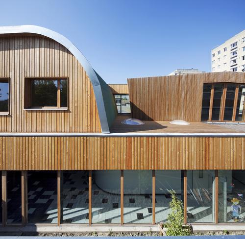 "GA architecture GRISAFI - ANANIA — Groupe scolaire ""Lapierre"""