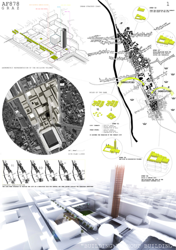 Andrea Fradegrada, Riccardo Riva, Simone Natoli, Giovanni Munafò, morfema_architects, Stefano Lamorte, Marianna Rossi — Europan 11 - Graz