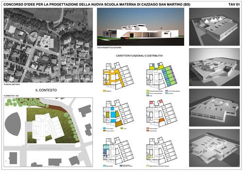 Francesco Rizzo — Nuova scuola materna di Cazzago San Martino