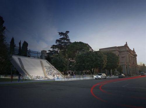 BREMBILLA+FORCELLA ARCHITETTI, Francesco Forcella, Davide Brembilla — Arena Donizzetti