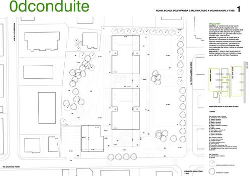 studio mas — Nuova Scuola dell'infanzia a Molino Nuovo, nuova sala multiuso e riqualifica degli spazi esterni per il quartiere