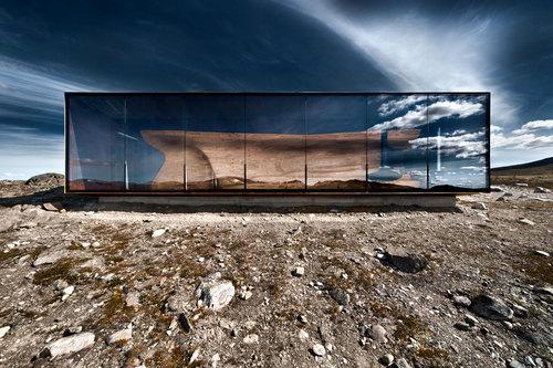 Snøhetta — Tverrfjellhytta. Norwegian Wild Reindeer Centre Pavilion