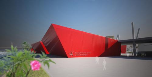 Gianni Architetto Santopietro — Concorso internazionale di idee per la riqualificazione della Fiera Internazionale della Sardegna
