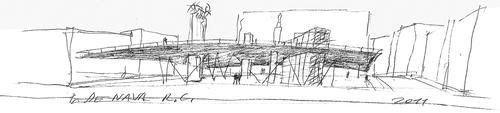 Studio di Architettura Anselmi & Associati  — sistemazione dell'area comunale antistante  l'ingresso principale su piazza De Nava