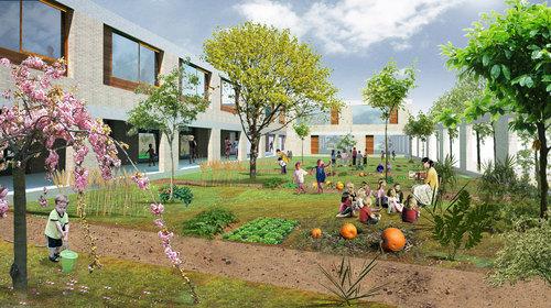 Buzzi studio d'architettura, Davide Scardua  — Nuova Scuola dell'infanzia a Molino Nuovo