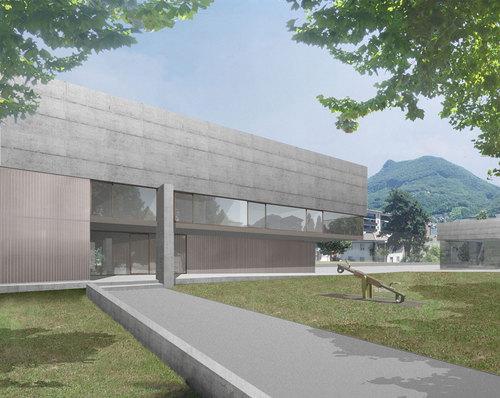Guidotti Architetti — Scuola dell'infanzia e sala multiuso a Molino Nuovo