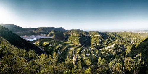 Batlle i Roig Arquitectes — Landscape restoration of the Vall d'en Joan landfill site Garraf