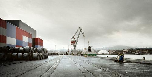 [baragaño] — Tinglados en el Puerto de Avilés