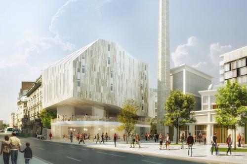 Puzzler, Mab Marotta Basile Arquitectura, David & Lampros, BASE — ÎLOT DES MARINIERS BROUSSAIS 14mo – PARIGI