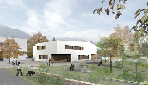 Roland Baldi — Nuova costruzione scuola materna e sala prove musica Sluderno