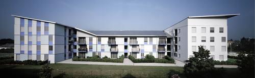 Guidarini & Salvadeo architetti associati — Edificio di edilizia convenzionata per 38 alloggi a Cornaredo (MI)