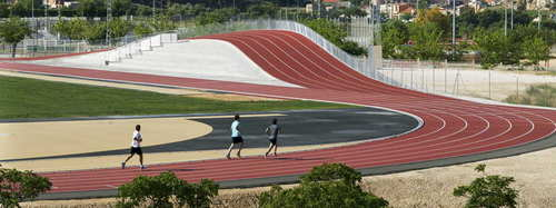 Subarquitectura — 3D Athletics Track