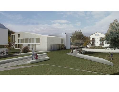 LDA Studio, 2xlrm Architetti Associati, Wolfgang Piller, Ermal Brahimaj — Scuola materna e locale di prove musica a Sluderno