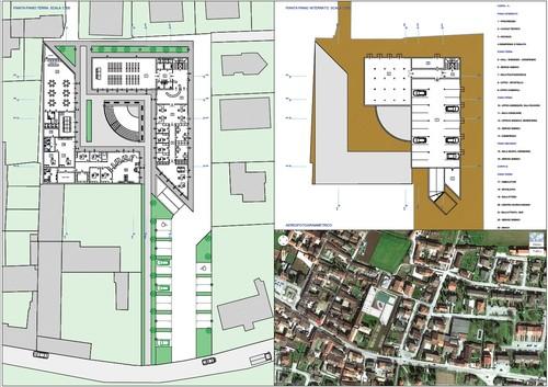 Alberto Lini, Silvia Candusso, Giorgio Montani — Centro Polifunzionale. Fiesse