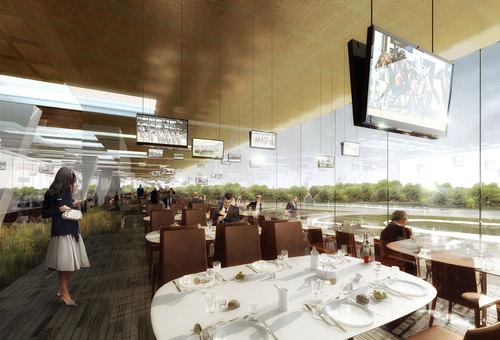 Dominique Perrault Architecture — Restructuration du nouvel hippodrome de Longchamp